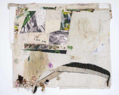 Culebra - 2018 - Collage de oleo sobre tela impresion digital sobre tela bordado sobre tela y peluches - 200x247cm