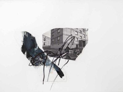 Sin titulo II - 2015 - Impresion digital sobre papel intervenida - 50x67cm