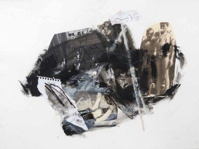 Sin titulo I - 2015 - Impresion digital sobre papel intervenida - 50x67cm