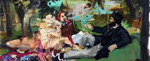VN - 2012 - Picnic Fetard - Acrilico Y Collage - 130x195cm