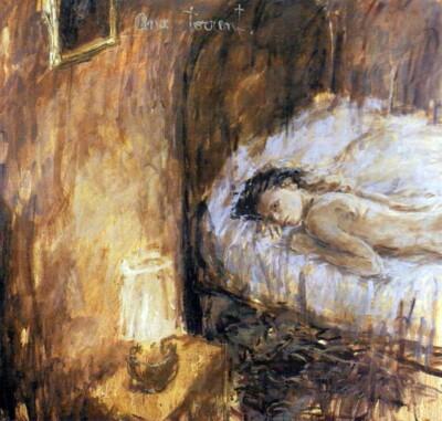Vicky Neumann - 1989 - Ana Torrent - Oleo Sobre Lienzo - 175x165cm