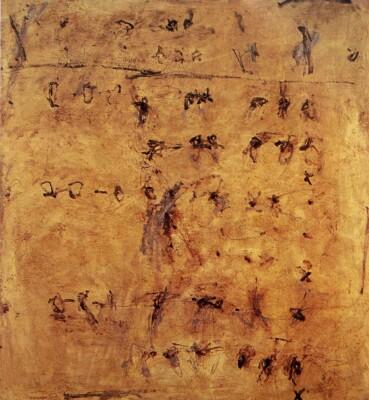 Vicky Neumann - 1993 - Sin Titulo, Mixta Sobre lienzo, 175x165cm