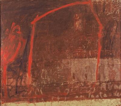 Vicky Neumann - 1994 - Sin Titulo, Encaustica y Oleo, 165x150cm