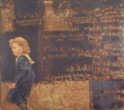 Vicky Neumann - 1994 - Sin Titulo, Encaustica y Oleo Sobre Lienzo, 150x165cm