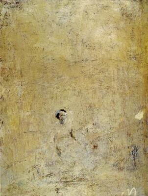 Vicky Neumann, 1996, Sin Titulo, Oleo Y Encaustica Sobre Lienzo, 150x115cm