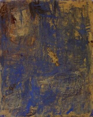 Vicky Neumann, 1997, Dia Patrio, Oleo Y Encaustica Sobre Lienzo,100x80cm