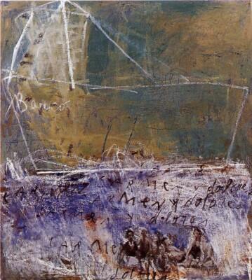 Vicky Neumann, 1998, Carmen Y Dolores, Oleo Y Encaustica Sobre Lienzo, 165x150cm