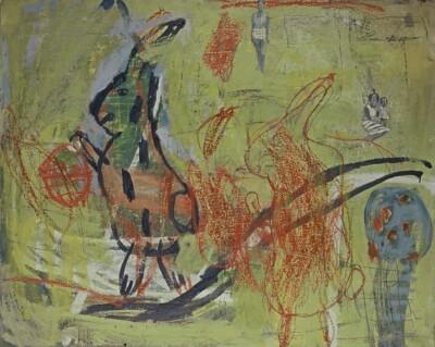 VN-2000-Carolina-Y-El-Conejo-Encaustica-Y-Oleo-163x130cm