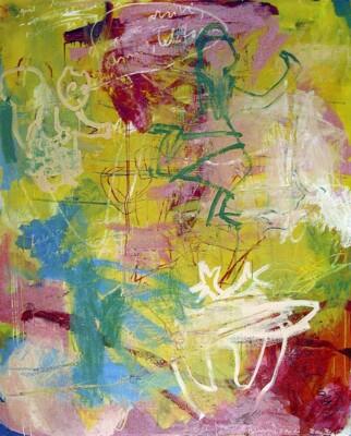 VN-2003-CuandoLleguesLlamas-Oleo-Y-Cera-Sobre-Lienzo-200x180cm