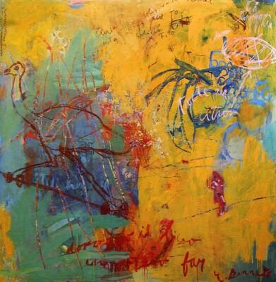 VN-2003-StillLifeConAutruche-Oleo-Y-Cera-Sobre-Lienzo-200x200cm