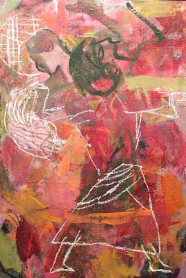 VN-2004-Tango-rosa-Oleo-Y-Encaustica-Sobre-Lienzo-150x150cm