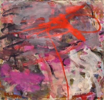 Vicky Neumann, 2006-Perder-La-Compostura-Mixta-Sobre-Tela-191x198cm