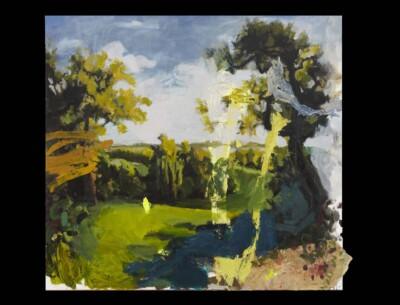 Vicky Neumann, 2010, La Primavera, Acrilico Sobre Tela, 150x164cm