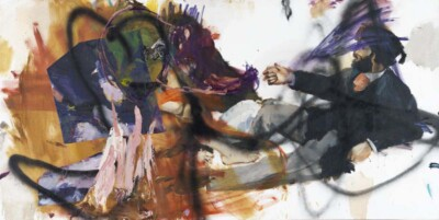 Vicky Neumann, 2011, Oveja Negra, Mixta Sobre Lienzo, 100x200cm