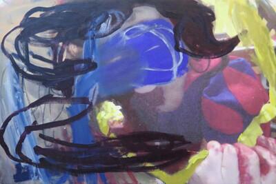 Vicky Neumann, 2015, Blancanieves, Técnica mixta, 114x75cm