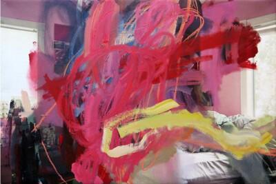Vicky Neumann, 2015, Habitación, Técnica mixta, 78x119cm