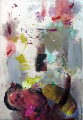 Vicky Neumann, 2015, Muñeca, Collage y técnica mixta, 130x90cm