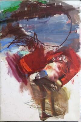 Vicky Neumann, 2015, Testigo, Collage y técnica mixta, 116x81cm
