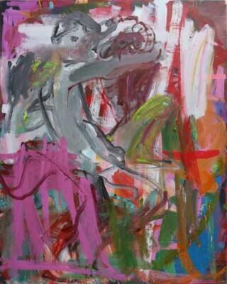 Vicky Neumann - 2017 - Juan B Caravaggio 3 - Mixta sobre tela - 161x130cm