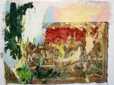 Vicky Neumann - 2017 - Tapete Oriental - Mixta sobre tapete - 161x210cm