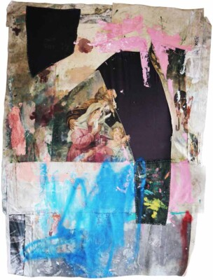 Vicky Neumann - 2017 - Virgen Anónima - Mixta sobre tela - 198x142cm