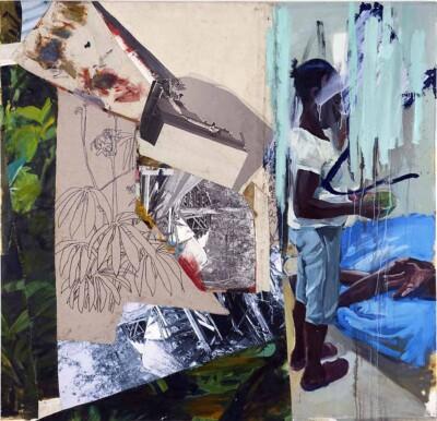 Vicky Neumann - Criso - 2019 - Mixta y Collage Sobre Lienzo - 175 x 180 cm