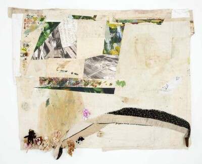 Vicky Neumann - Culebra - 2018 - Collage Mixto con Peluches - 200 x 244 cm